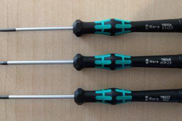 Wera Kraftform Micro Elektroniker Schraubendrehersatz