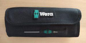 Wera Kraftform Micro Elektroniker Schraubendrehersatz - Stabile Tasche